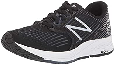 New Balance Women's 890v6 Running Shoe, Grey/Black, 6 B US