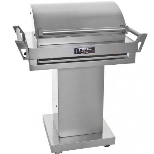 TEC G-Sport FR Propane Gas Grill On Stainless Steel Pedestal ()