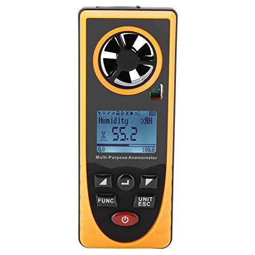 Ants-Store - GM8910 Multifunctional LCD Display Digital Anemometer Air Wind Speed Scale Meter Wind Speed Measuring Tools Digital Anemometer a