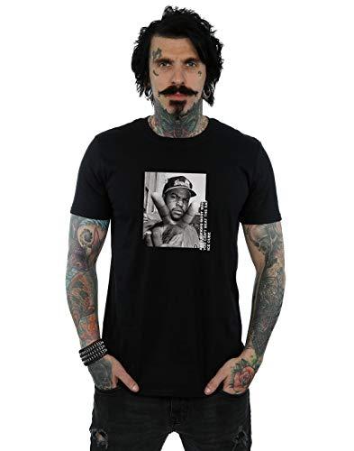 Ice Cube Men's Peace Sign T-Shirt Black X-Large