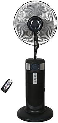 LuxuryGarden - Ventilador nebulizador de pie con 3 velocidades, 60 ...