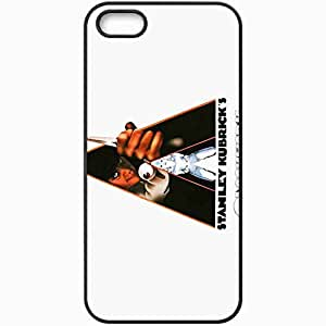 Personalized iPhone 5 5S Cell phone Case/Cover Skin A clockwork orange movies Black