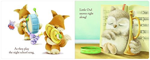 Jellycat Wake Up Little Owl Board Book and Little Owl Toy by Jellycat (Image #2)