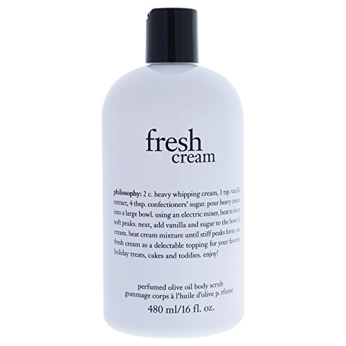 Philosophy Fresh Cream Olive Oil Body Scrub 16 oz