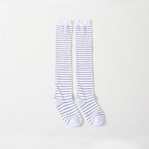 Long Warm High Boot Socks knee MML Knee Socks High Thigh Whtie Leggings Knitted Women Winter Over q8afaA4n