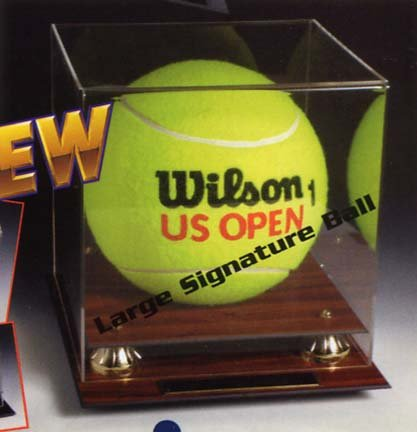 Signature Oversized Tennis Ball Display Case