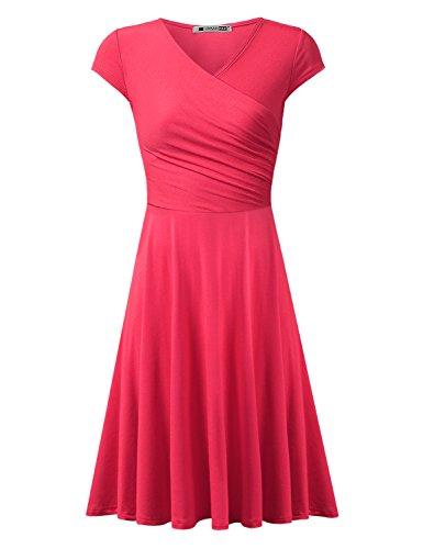 V-Neck Tunic Dress - 8