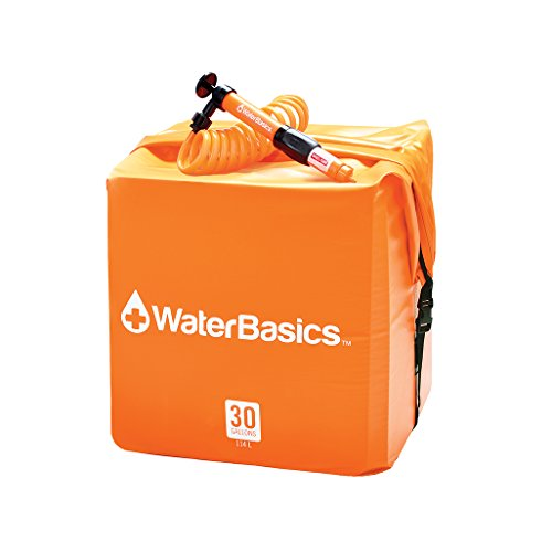 WaterBasics Emergency Spa water Storage Kit w/Filter (30gal, RED-II-120)
