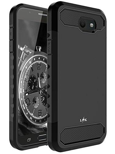 Slim Shockproof Case for Samsung Galaxy J3 (Black) - 4