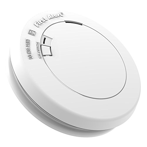 First Alert PR710 10-Year Photoelectric Smoke and Fire Detector
