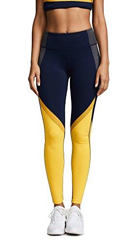 Splits59 Women's Jordan Leggings, Midnight/Gold, Small by Splits59
