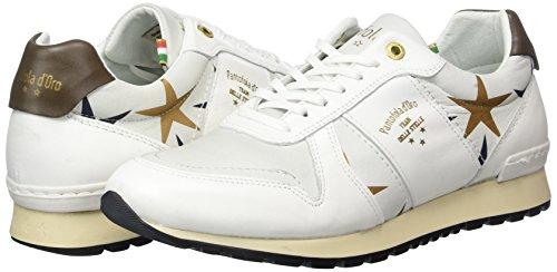 D'oro Bianco White bright Pantofola Donna Sneaker 1fg Low Stelle Teramo Donne BnqRg