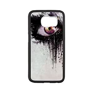 FLYBAI Colorful Eye Phone Case For Samsung Galaxy S6 G9200 [Pattern-2]
