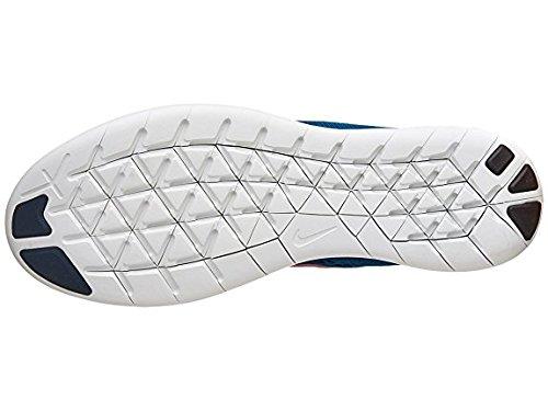 Nike Mens Free Rn Scarpa Da Corsa Squadron Blu / Palestra Rosso / Blu Scintilla / Nero