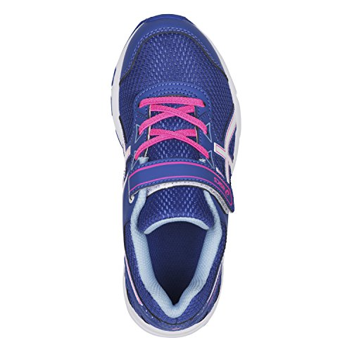 Asics Pre Galaxy 9 Ps, Zapatillas de Entrenamiento Unisex Bebé Azul (Blue Purple/white/airy Blue)
