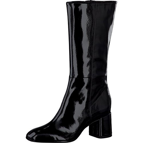 black Closed Women Toe Ankle Toe Shoes 1 25056 37 1 Women's patent Closed Tamaris 7HnYqvf