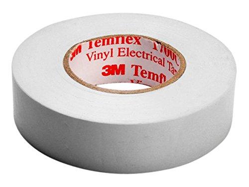 3 M twei1525 TEMFLEX 1500 vinilo elé ctrico de cinta aislante, 15 mm x 25 m, 0,15 mm, color blanco 15mm x 25m 3M 7000062289 0330266