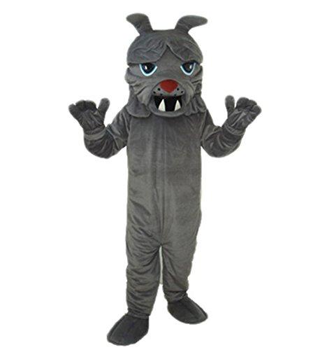 MascotShows Bulldog Mascot Costume for Adult (Bulldog Mascot Costume)