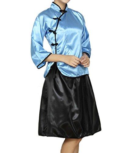 anime blue dress - 5