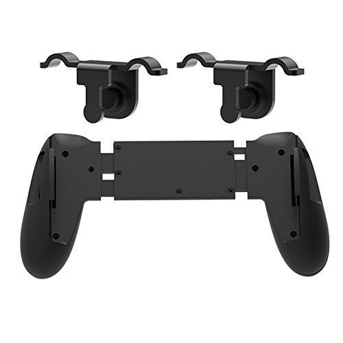 Xberstar Game Fire Button Aim Key Smart Phone Mobile Gaming Trigger Joystick Grip Joypad Holder Extended Handle C1 Shooter Controller  2Pcs Gaming Trigger Controller
