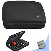 Xtech Well Padded Custom Large Hard Camera Case for all GoPro Cameras