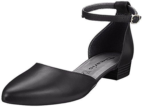 Tamaris WoMen 24227 Ankle Strap Sandals Black (Black Lea.uni)