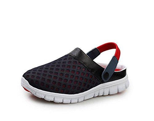 Respirable X Del Paño Fresco zapatos B Verano Cool Deslizadores Acoplamiento Hilado Neto De 6AUvnqw4