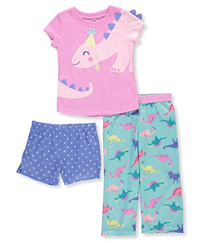 Carters Baby Girls 3-Pc. Dinosaur Party