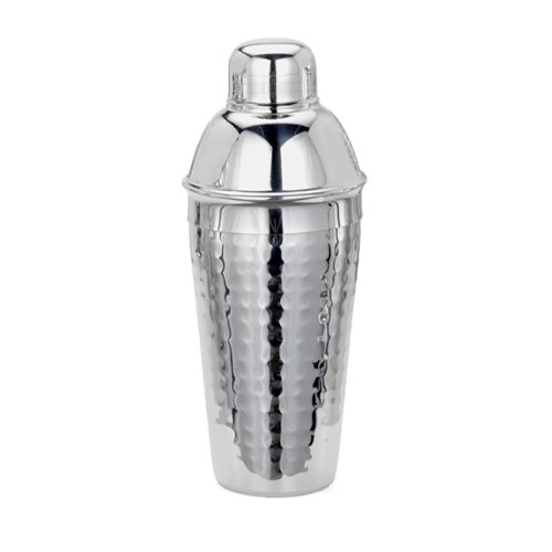 Cuisinox Cocktail Shaker Hand Hammered Finish, 700ml (Electric Martini Shaker)