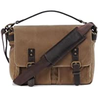 ONA - The Prince Street - Camera Messenger Bag - Field Tan Waxed Canvas (ONA5-024RT)