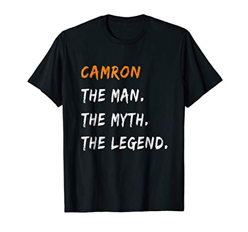 CAMRON The Man The Myth Legend T-Shirt Name Tee