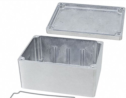 BUD Industries AN-1305-A IP68 Aluminum 5.83x4.25x2.95 Enclosure, Natural