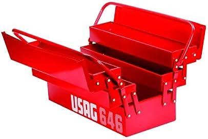 UsagTrade - Caja portaherramientas USAG 646/5 V Extensible con 5 ...