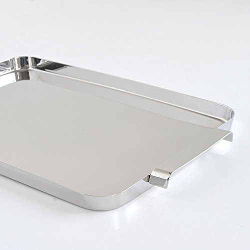 Alessi KL09''''Tau'' Tray With Handles, Silver by Alessi (Image #3)
