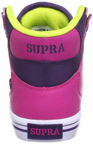 VAIDER Mehrfarbig de Map Multicolor Zapatilla mujer cuero alta Supra Rwpfqp