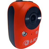 Liquid Image Ego Series 1080P Mountable Mini Extreme Sports Camera - Red / 4.06cm x 6.35cm x 3.05cm (H x W x D)