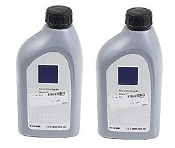 Set of 2 Power Steering Fluid Genuine Q1460001