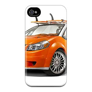 4/4s Scratch-proof Protection Case Cover For Iphone/ Hot Suzuki Makai Concept 2007 Phone Case