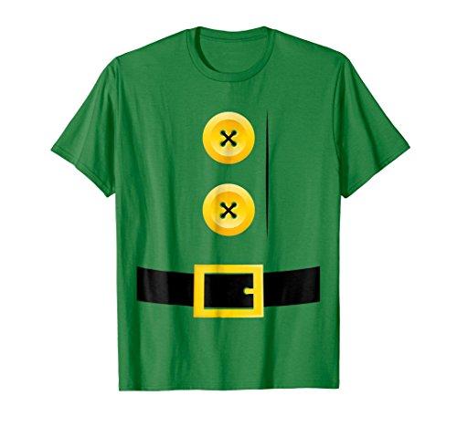 Mens Dwarf, Gnome, Elf, Halloween Group Matching Costume Shirt 2XL Kelly (Great Couple Halloween Costume Ideas 2017)
