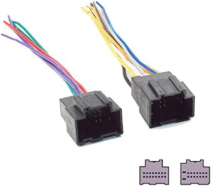 Amazon.com: Car Stereo Radio CD DVD Wiring Harness for Chevrolet Power Cable:  Car Electronics | Chevrolet Truck Wiring Harness Adapter Dvd |  | Amazon.com