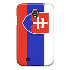 New Arrival Galaxy S4 Case Slovakia Flag Case Cover