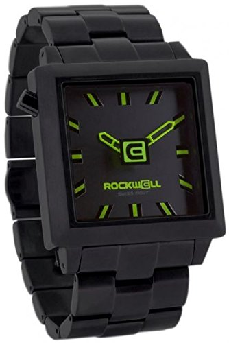Rockwell Time Men's 40mm 2 Watch, Black/Green by Rockwell Time