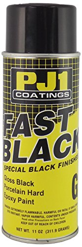 PJ1 16-GLS Gloss Black Epoxy Spray Paint (Aerosol), 11 oz 11 Ounce Aerosol Spray