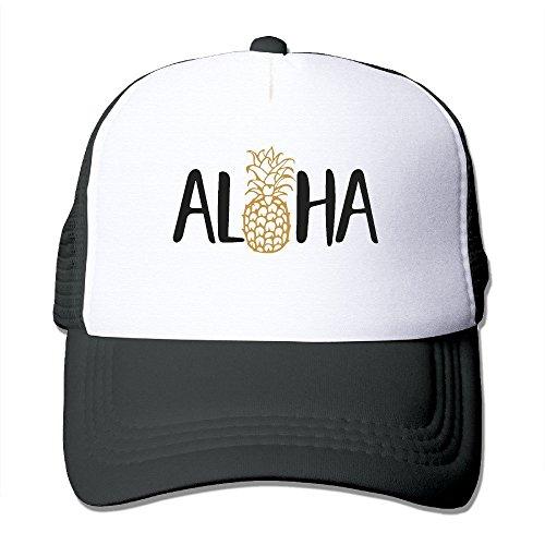 Waldeal Adult Aloha Beaches Pineapple Baseball Hat