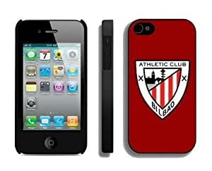 Custom Soccer Element Iphone 4 4s Case Athletic Debilbao 4 Cheap Cell Phone Protective Cover