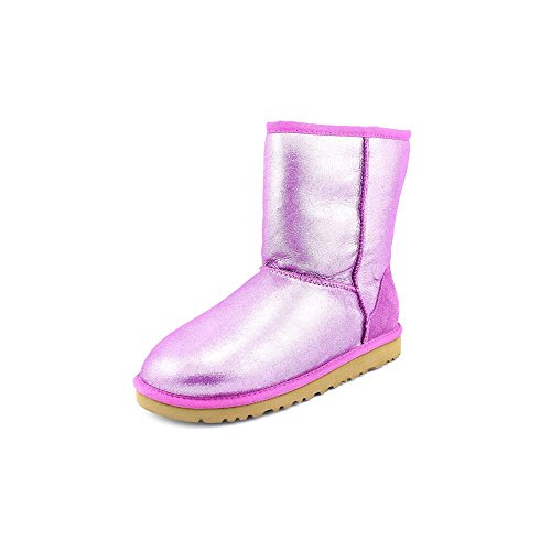 UGG Kids' Classic Glitter Pre/Grd (Grape 6.0 M)