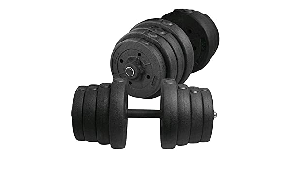 Juego de Pesas de Entrenamiento para bíceps y tríceps genéricos, 2 Mancuernas para Gimnasio o Gimnasio, 30 kg: Amazon.es: Electrónica