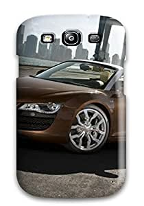 Hot WUUKVsb9961hxktm Audi R8 Spyder 19 Tpu Case Cover Compatible With Galaxy S3