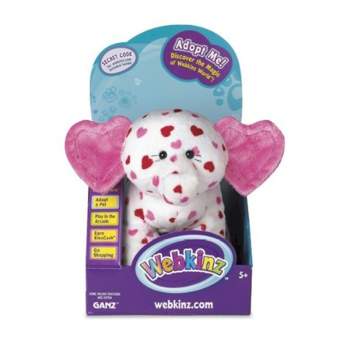 Webkinz Eluvant in Box with Trading Cards