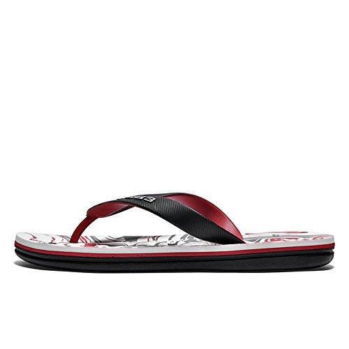 da spiaggia 2018 da antiscivolo Color shoes stampati morbido uomo Uomo da fondo sandali EU Sandali Casual Infradito con 43 Xujw Blu Dimensione Giallo con pt7Pwx5qw